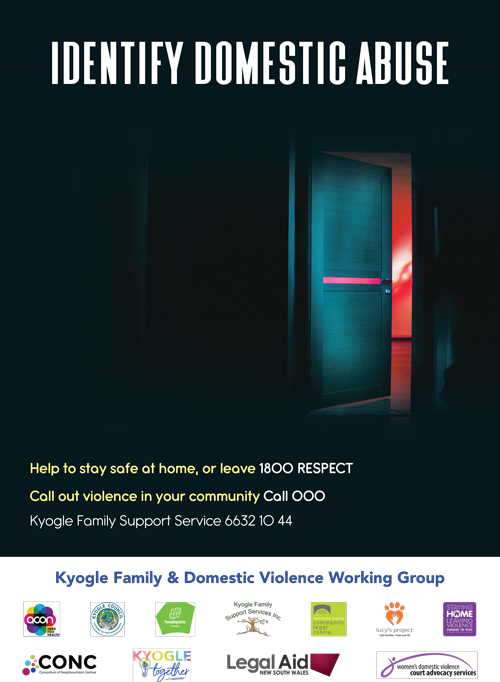 Poster by Kyogle Family & Domestic Violence Working Group